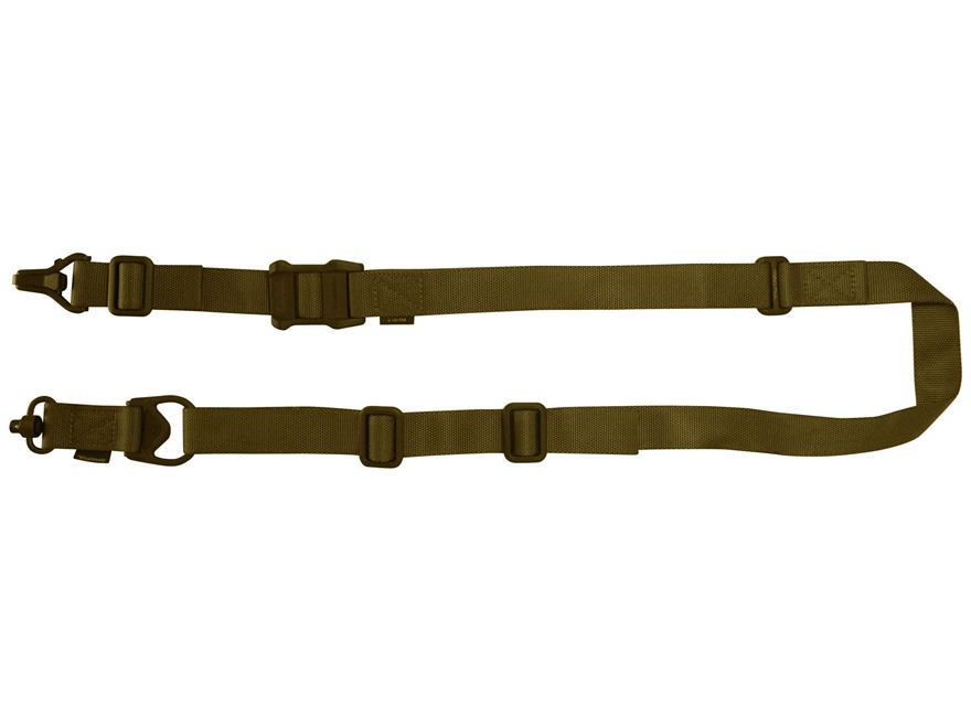 Magpul MS3 Gen 2 Multi-Mission Single Point / 2 Point Sling with QD Swivel Nylon