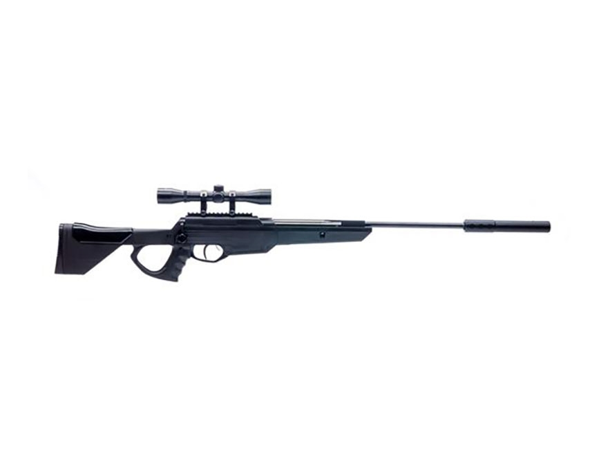 Bear River Outdoors TPR 1300 Air Rifle with Suppressor 177 Caliber Pellet Synthetic Sto...