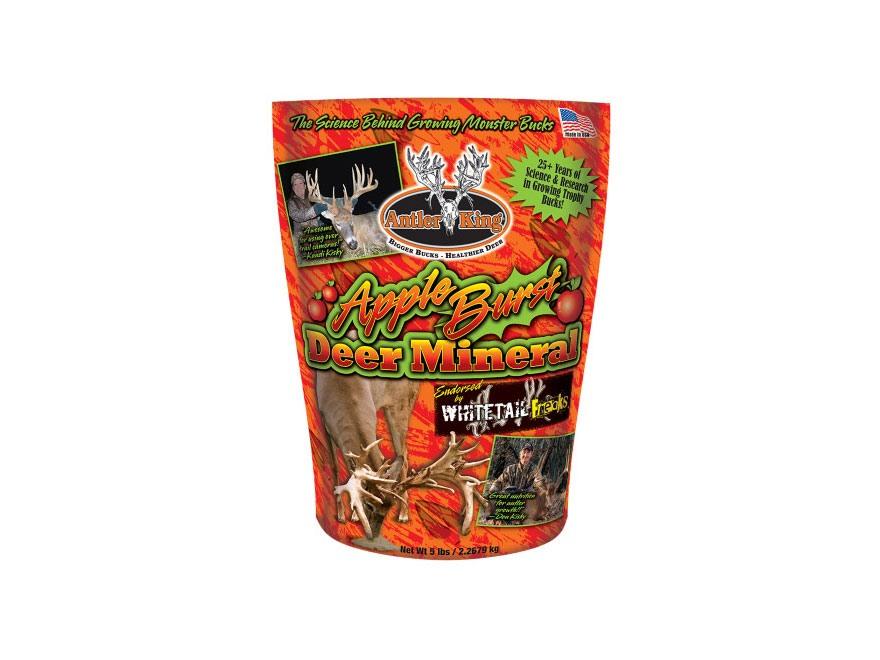 Antler King Whitetail Freaks Apple Burst Mineral Deer Supplement