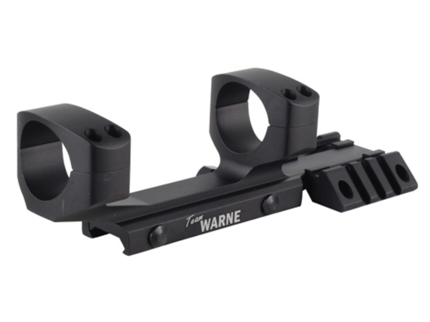 Warne RAMP 1-Piece Extended Scope Mount Picatinny-Style with Integral 30mm Rings Flatto...