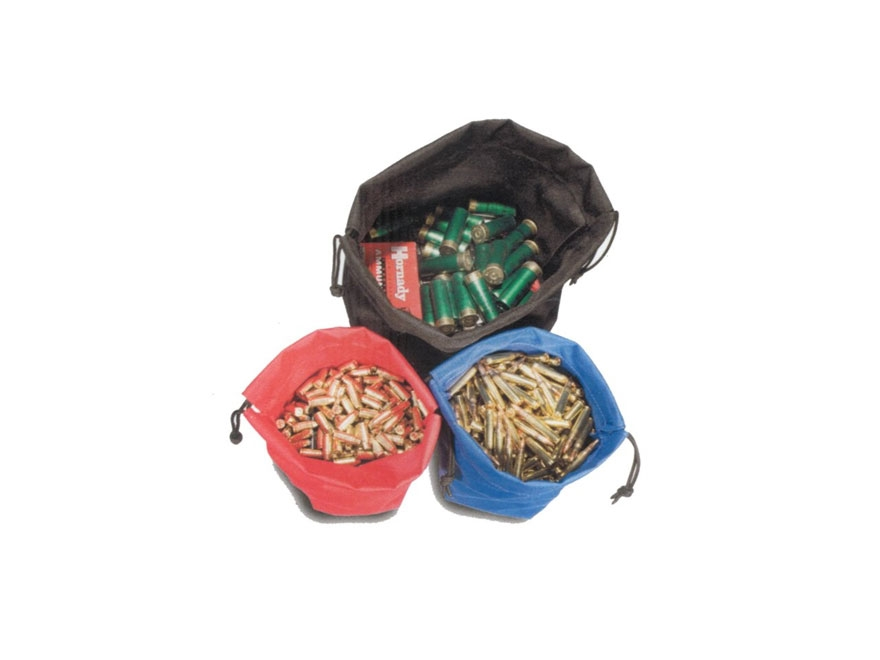 Tuff Products 3 Gun Ammo Bag Set Red/Blue/Black Nylon