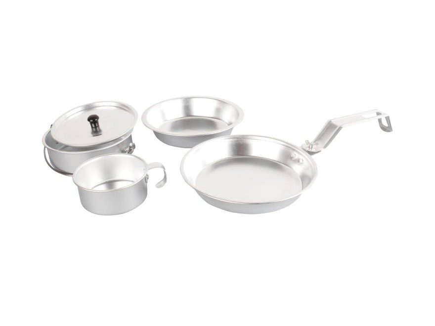 Coleman 1-Person Aluminum Mess Kit