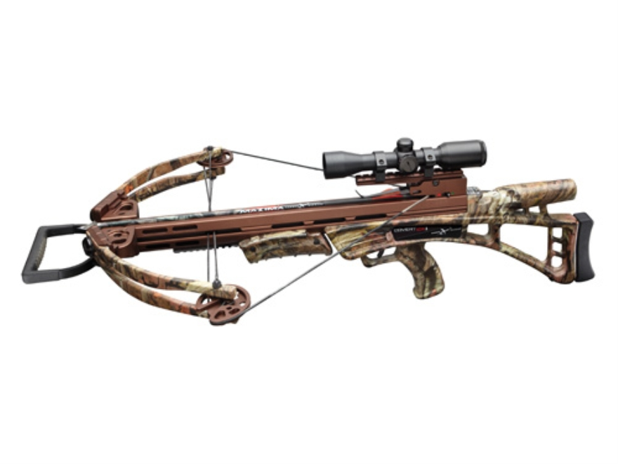 Carbon Express Covert CX1 Crossbow Package with Illuminated 4x32 Multi-Reticle Scope Mo...