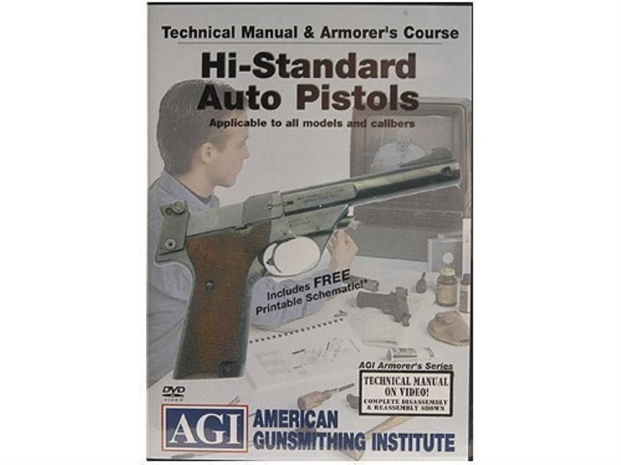 "American Gunsmithing Institute (AGI) Technical Manual & Armorer's Course Video ""High St..."