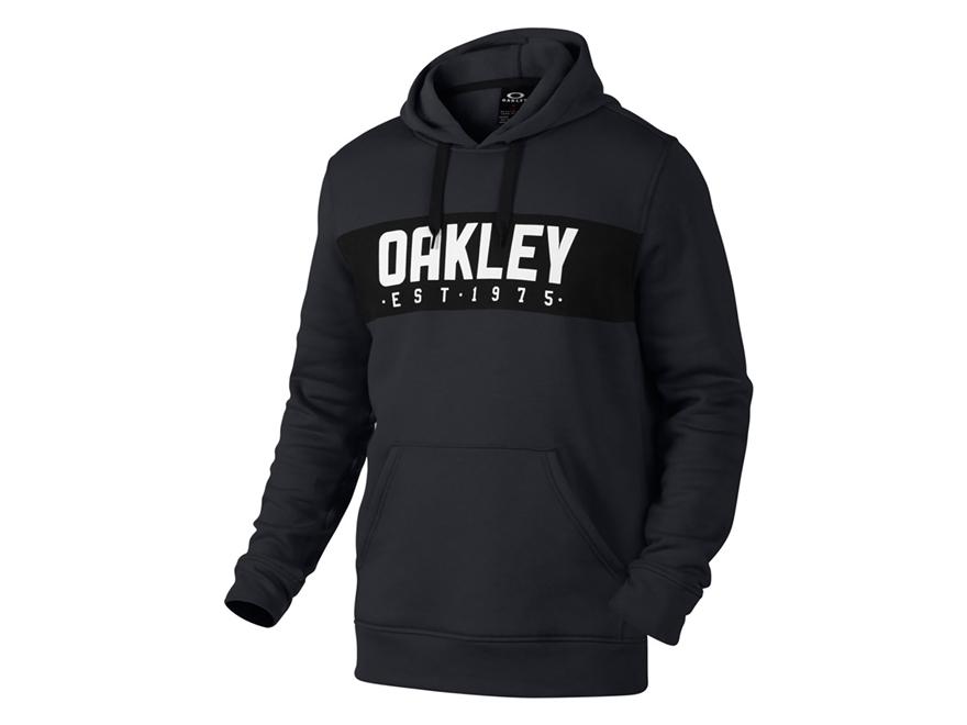 Oakley Men's Hooded Fleece Sweatshirt O-Hydrolix Jet Black Heather Large