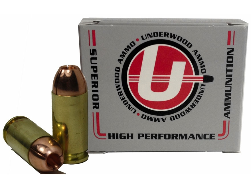 Underwood Ammunition 40 S&W 140 Grain Lehigh Controlled Fracturing Hollow Point Lead-Fr...