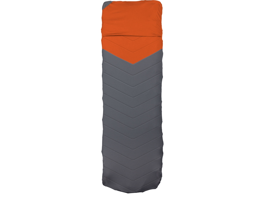 Klymit Quilted V Sheet Polyester Orange and Gray