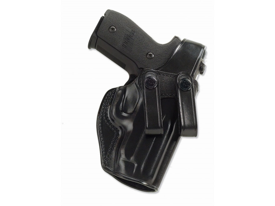 Galco SC2 Inside the Waistband Holster Right Hand S&W M&P 9mm, 40 S&W Leather Black