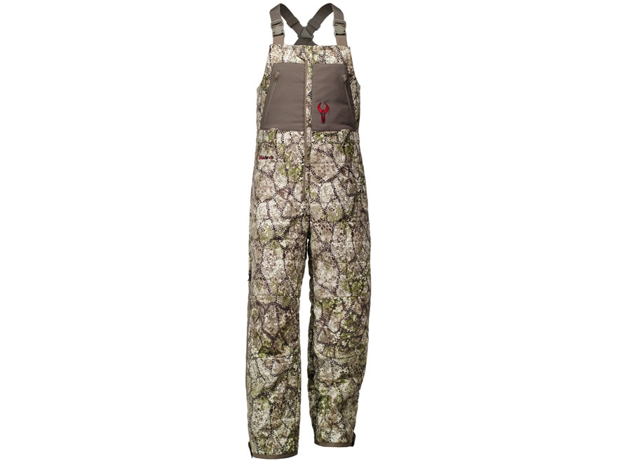 Badlands Men's Convection Soft Shell Insulated Bibs Polyester Approach Camo