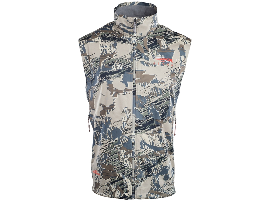 Sitka Gear Men's Windproof Mountain Vest Nylon Gore Optifade Open Country