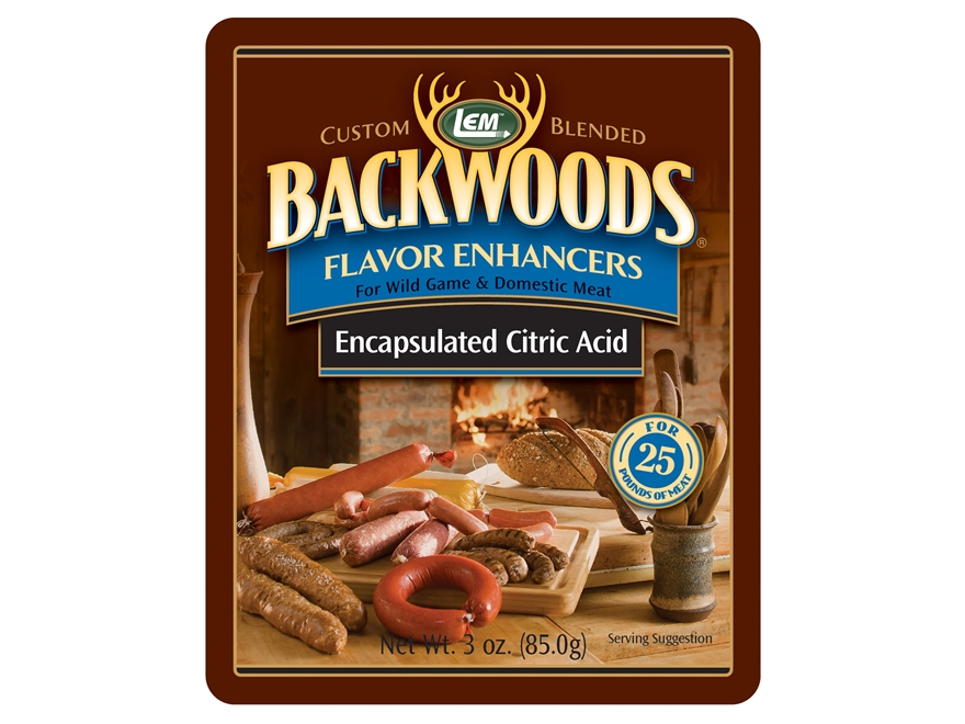 LEM Backwoods Encapsulated Citric Acid 3 oz