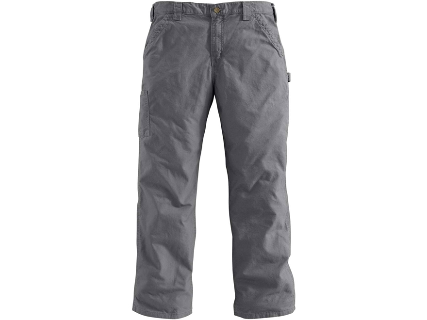 Carhartt Men's Canvas Work Dungaree Pants Cotton