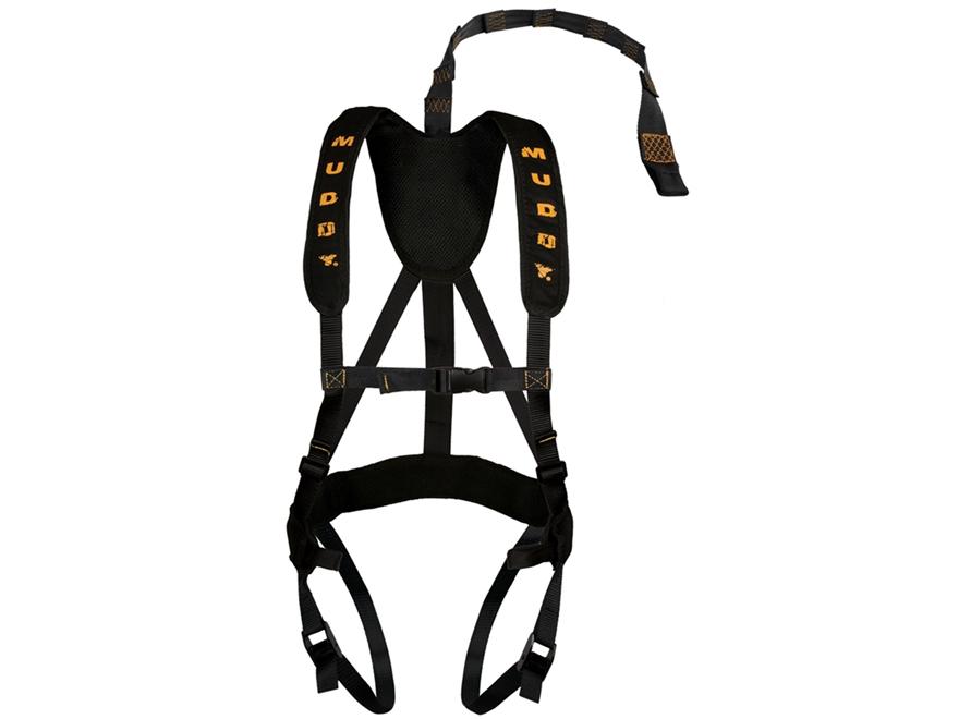 Muddy Outdoors Magnum Pro Treestand Safety Harness Nylon Black