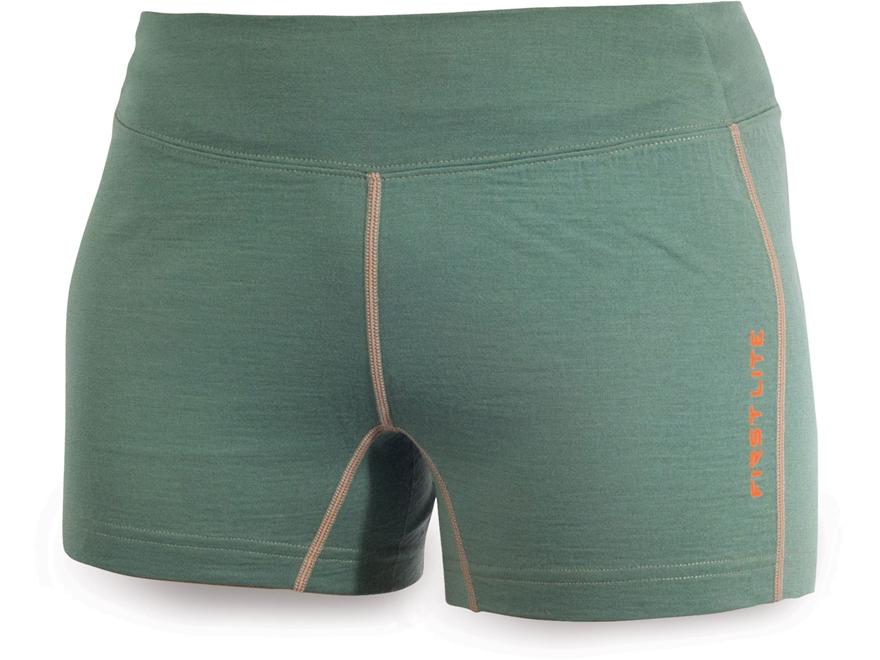First Lite Women's Syringa Base Layer Shorts Merino Wool