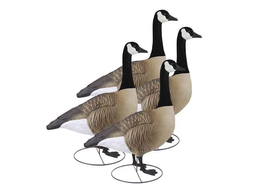 Higdon GIANT TruSentry Full Body Canada Goose Decoy Polymer Pack of 4