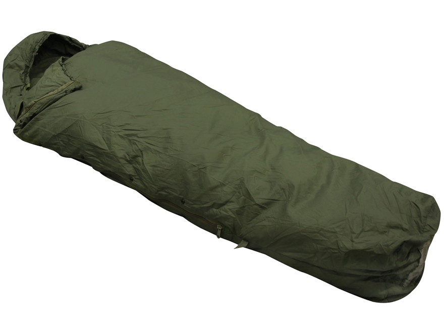Military Surplus MSS Patrol 30 Degree Mummy Sleeping Bag Nylon Green