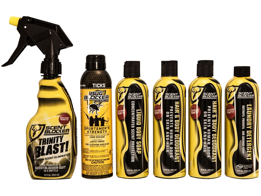 ScentBlocker Trinity Scent Elimination 6-Pack Combo
