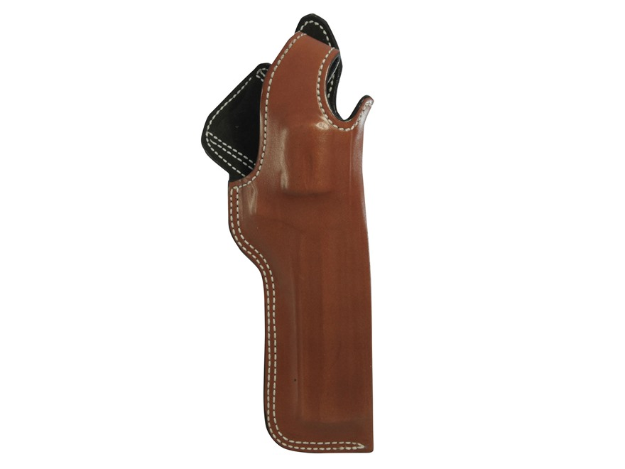 "DeSantis Dual Angle Hunter Belt Holster S&W K Frame 6"" Leather Tan"