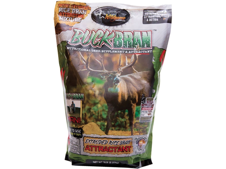 Wildgame Innovations Buck Bran Deer Attractant Powder 5 lb