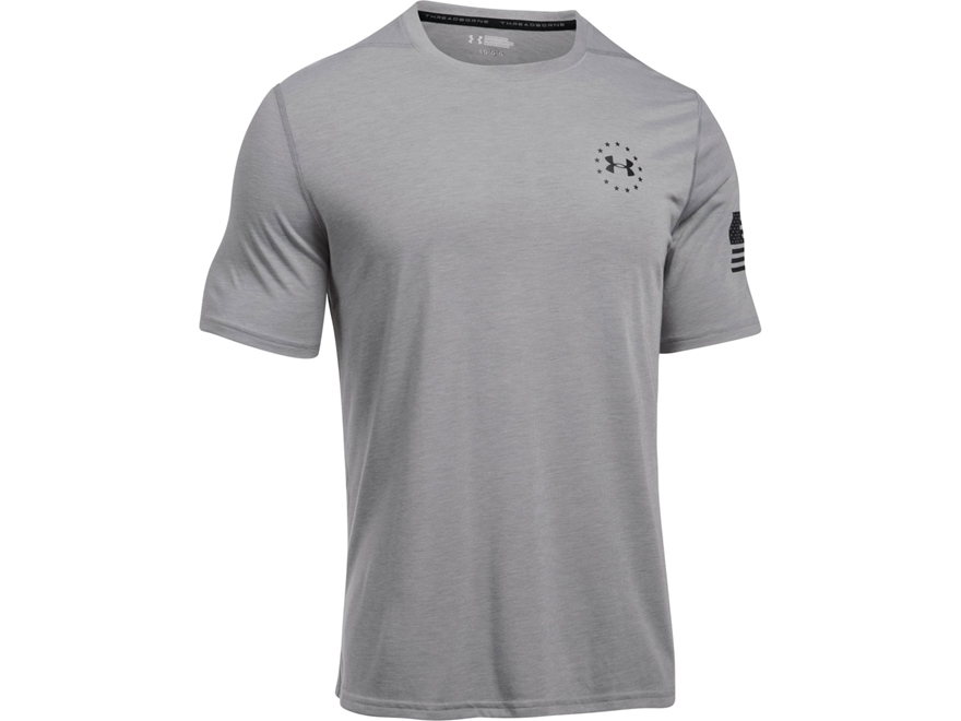 Under Armour Men's UA Freedom Threadborne Siro T-Shirt Short Sleeve Polyester
