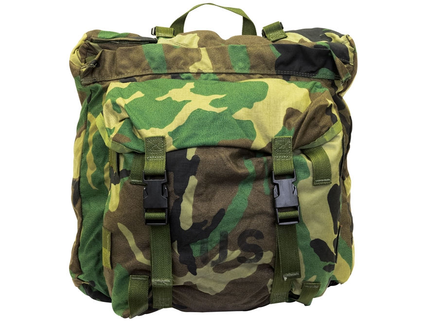 Military Surplus CFP-90 Assault Pack Woodland Camo