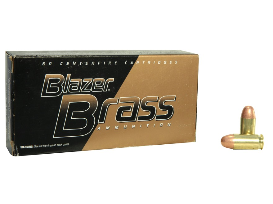 CCI Blazer Brass Ammunition 45 ACP 230 Grain Full Metal Jacket