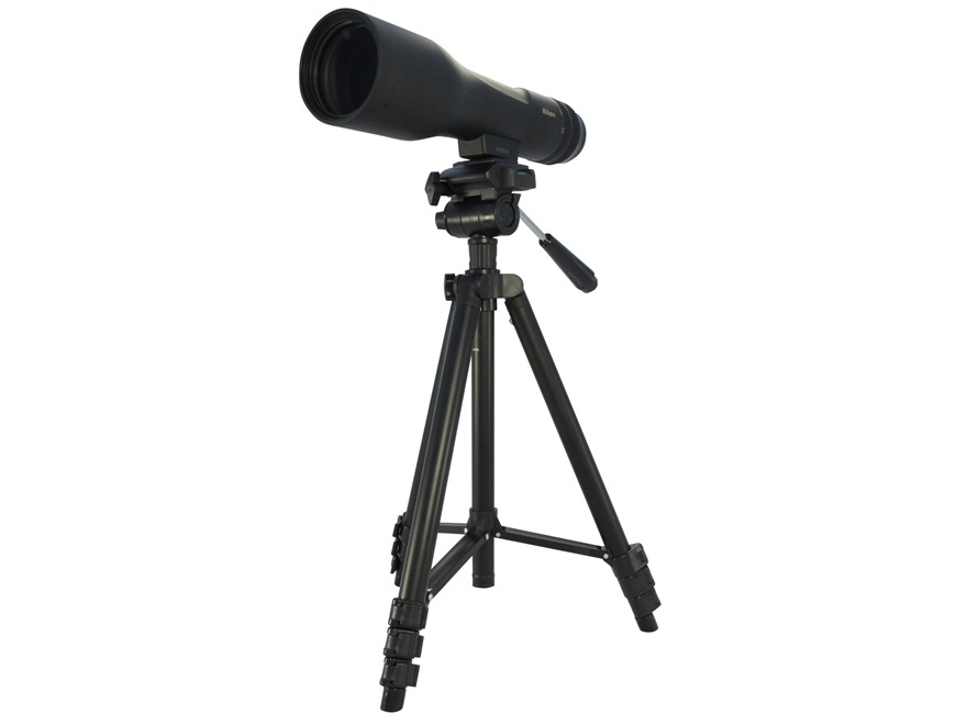 Nikon PROSTAFF 3 Fieldscope Spotting Scope 16-48x 60mm Straight Body with Tripod and So...