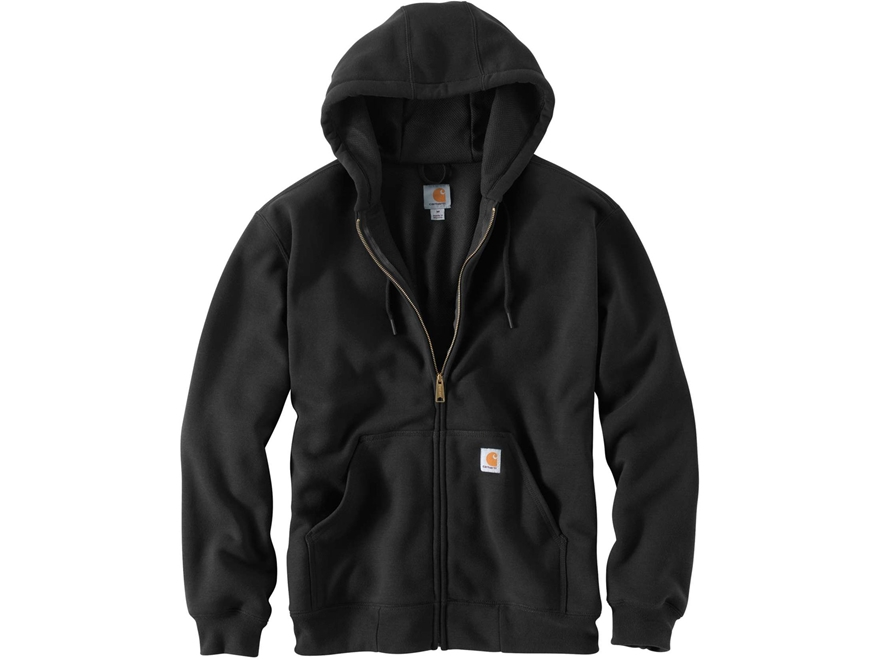 Carhartt Men's Rain Defender Rutland Thermal-Lined Zip-Front Hooded Sweatshirt Cotton/P...