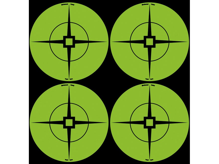 "Birchwood Casey Target Spots 3"" Atomic Green Pack of 40"