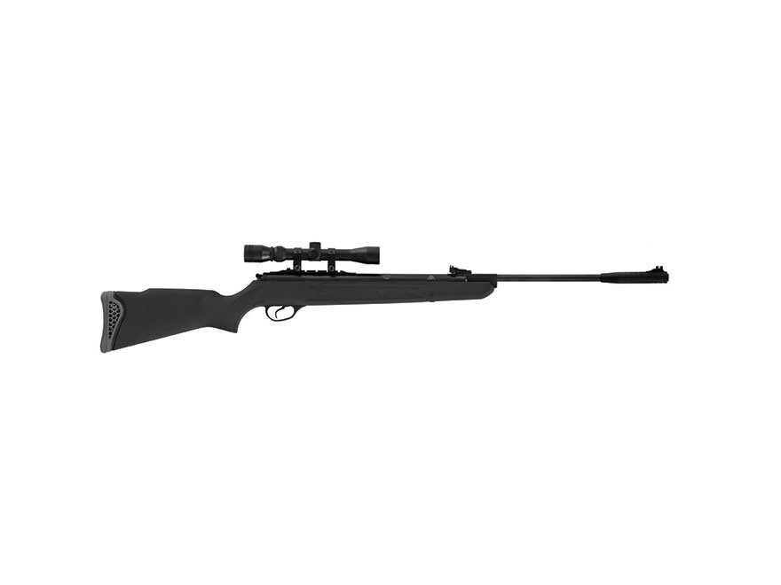 Hatsan Model 125 Vortex Break Barrel Air Rifle Pellet Synthetic Stock Black Barrel with...