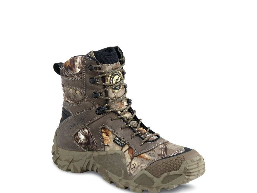 "Irish Setter VaprTrek 8"" Waterproof Uninsulated Hunting Boots Nylon and Leather Realtre..."