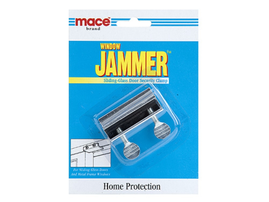 Mace Brand Sliding Glass Door Security Clamp Home Security Steel