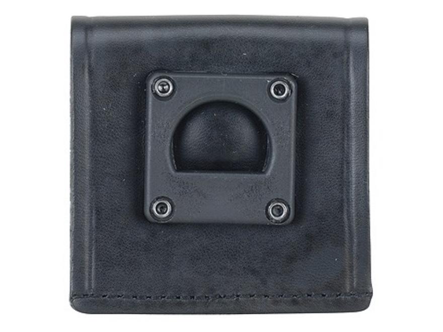 Gould & Goodrich B653 Radio Holder Swivel Adapter Leather Black