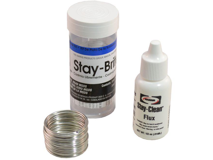 Grobet Stay-Brite High Strength Silver Solder Kit