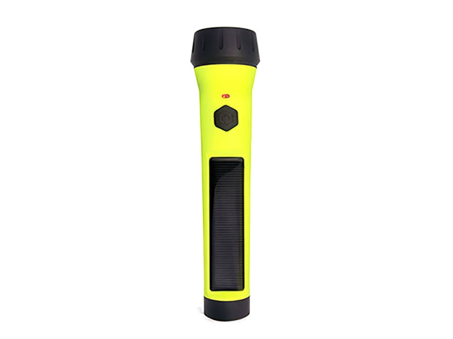 HybridLight Entrada Solar Flashlight LED Rechargeable Battery