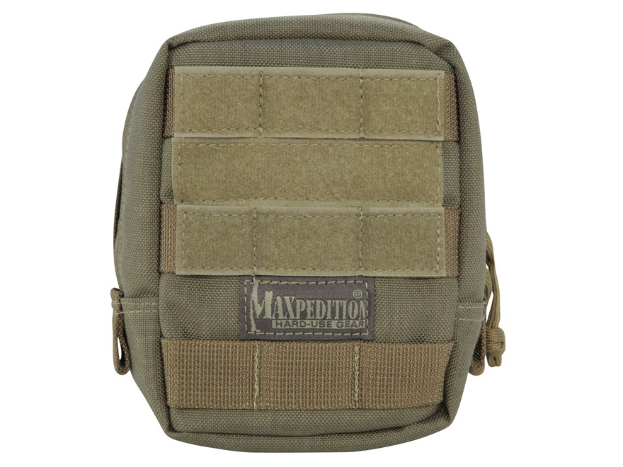 "Maxpedition Padded Pouch 4-1/2"" x 6"" Nylon Khaki"