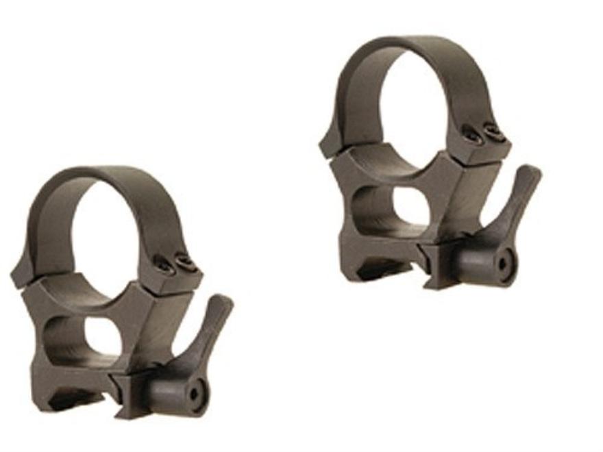 Valdada IOR 30mm Quick-Detachable Tactical Picatinny-Style Rings Matte High