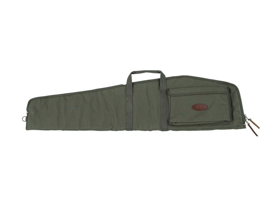 "Boyt Scoped Varmint Rifle Case 48"" with Pocket Canvas Green"
