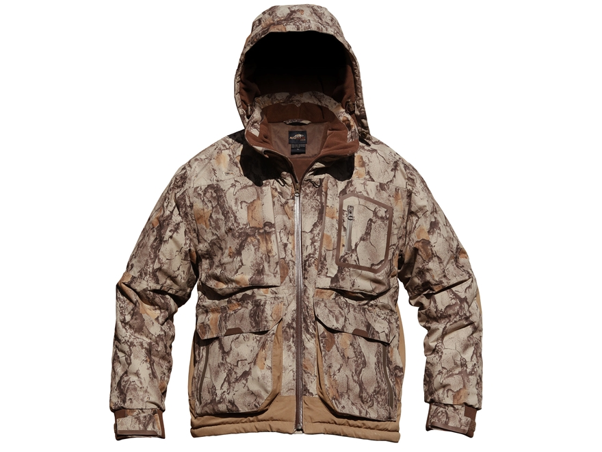 Natural Gear Men's Ultimate Waterfowler Jacket Waterproof Insulated Polyester