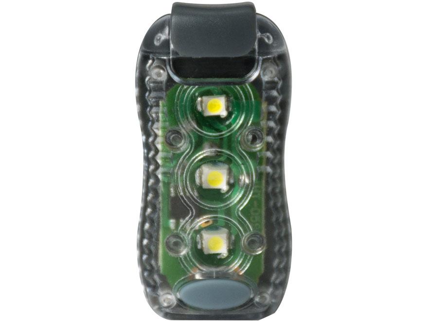 UST See-Me KLIPP 0.5 Light LED with 4 CR1220 Batteries ABS Plastic