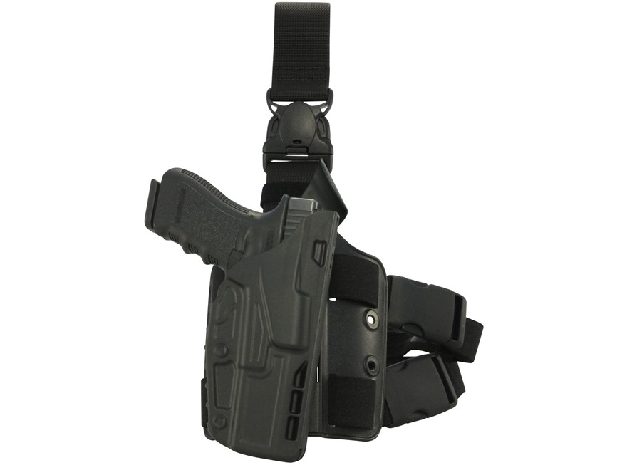 Safariland 7385 7TS ALS Tactical Holster with Quick Release Glock 17, 22 Polymer Black