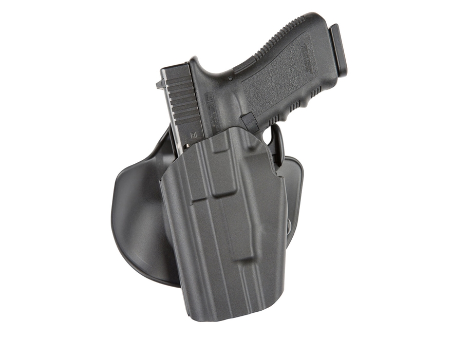 Safariland 578 Pro-Fit GLS (Grip Lock System) Paddle and Belt Loop Wide Long Holster Be...