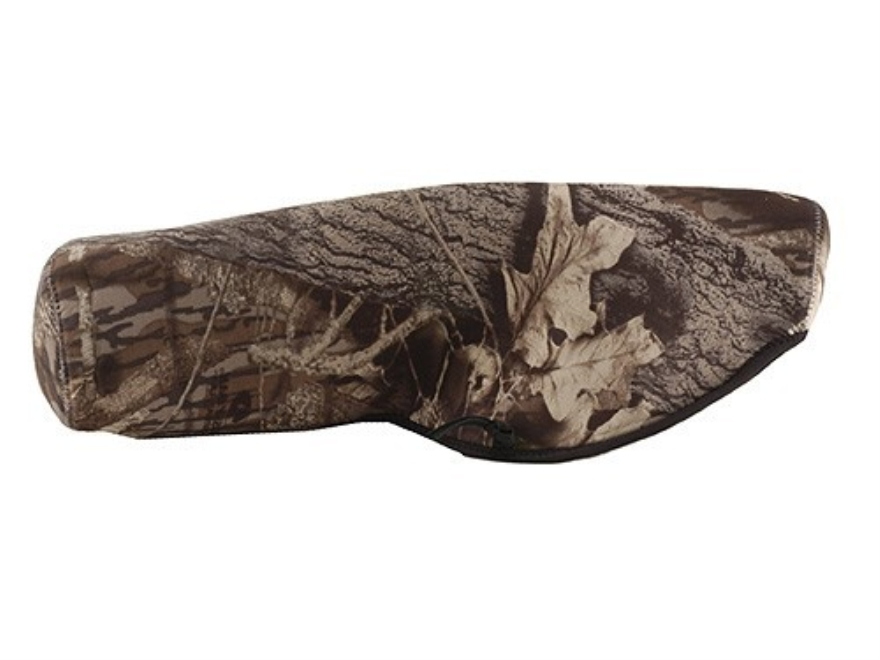 CrossTac Spotting Scope Cover Large Straight Body Neoprene Reversible Black, Mossy Oak ...