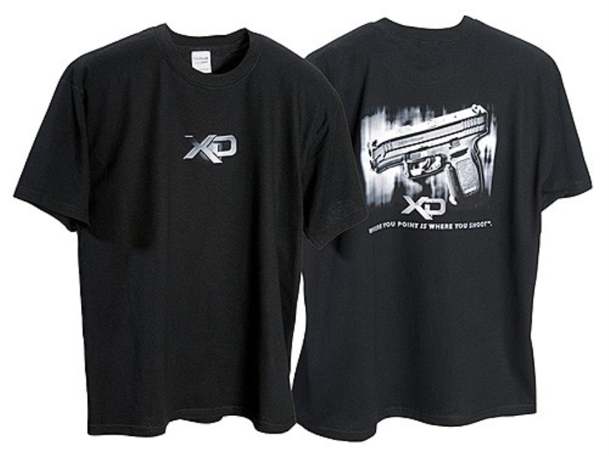 Springfield Armory XD T-Shirt Short Sleeve Cotton