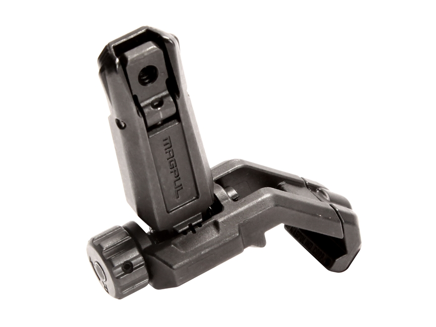 Magpul MBUS Pro Offset Flip Up Rear Sight AR-15 Steel Black
