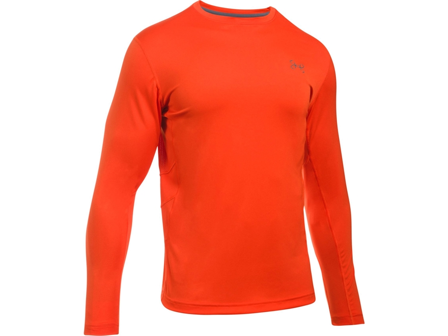 Under Armour Men's UA Fish Hunter Tech Shirt Long Sleeve Polyester