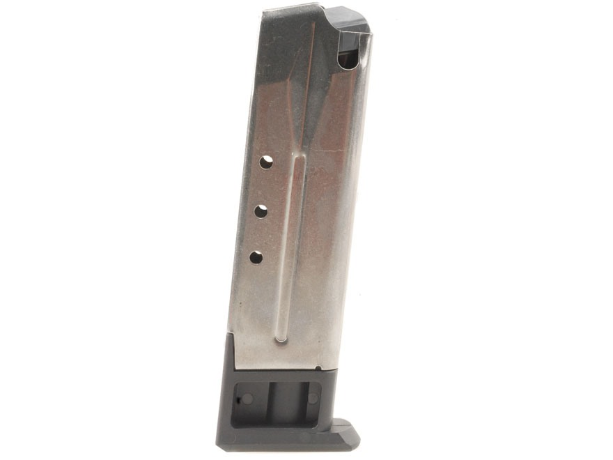Ruger Magazine Ruger KP89, KP93, KP94, KP95 9mm Luger 10-Round Stainless Steel (SN# 304...