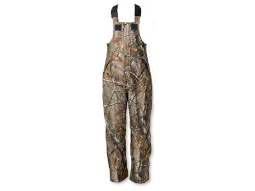 Scent-Lok Men's Thundertek Cyclone Waterproof Insulated Bibs Polyester Realtree AP Camo...