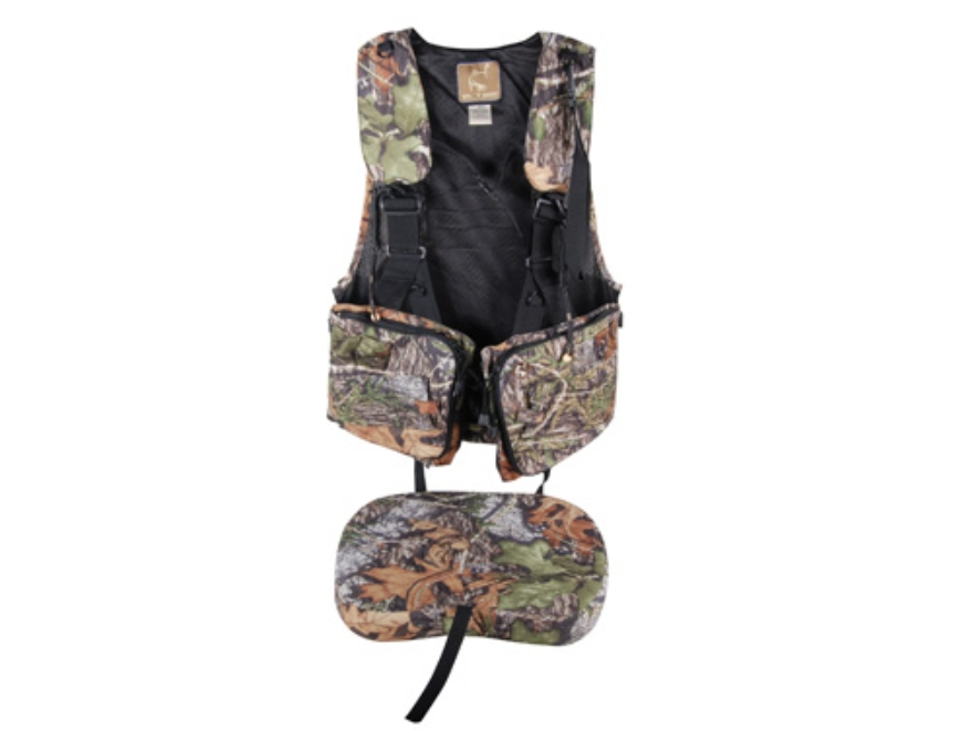 Ol' Tom Duralite Time & Motion Strap Turkey Vest Mossy Oak Obsession Camo