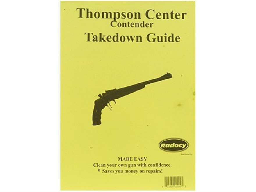 "Radocy Takedown Guide ""Thompson Center Contender"""